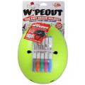 Шлем с фломастерами Wipeout Neon Zest (M 5+) кислотный