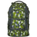 Рюкзак школьный Satch Green Crush с анатомической спинкой зеленый
