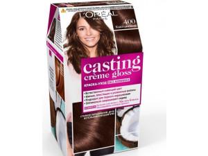 L'Oreal Casting Creme Gloss Крем-краска для волос тон 400 каштан