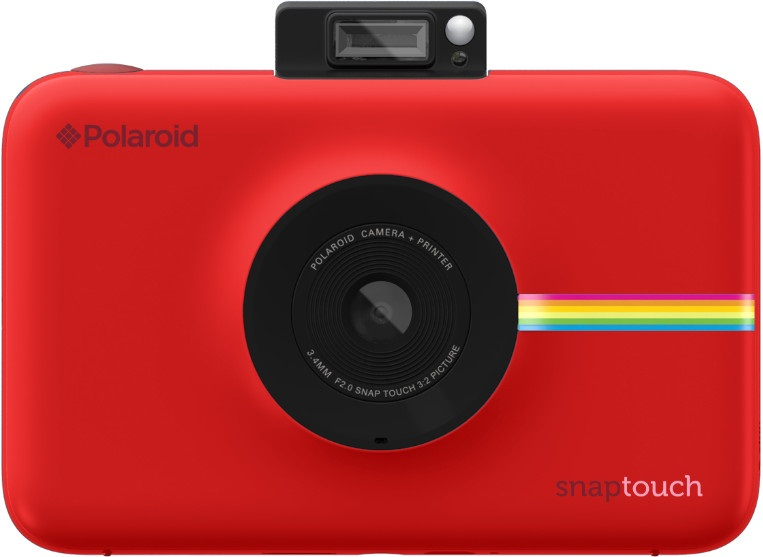 Моментальная фотокамера Polaroid Snap Touch, красная  уценка 4120