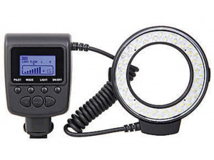 Кольцевая вспышка Macro LED для Canon Nikon Pentax Olympus Panasonic DSLR, 8 переходных колец