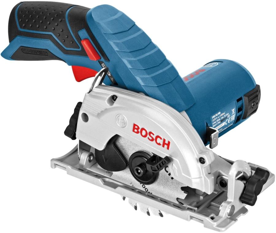 Пила циркулярная аккумуляторная Bosch GKS 12V-26 ProfessionalI БЕЗ АКК. и З/У (0.601.6A1.001)  10.8В LiION 1400об/мин