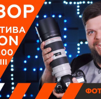 Видеообзор телеобъектива Canon EF 70-200 F2.8L IS III USM
