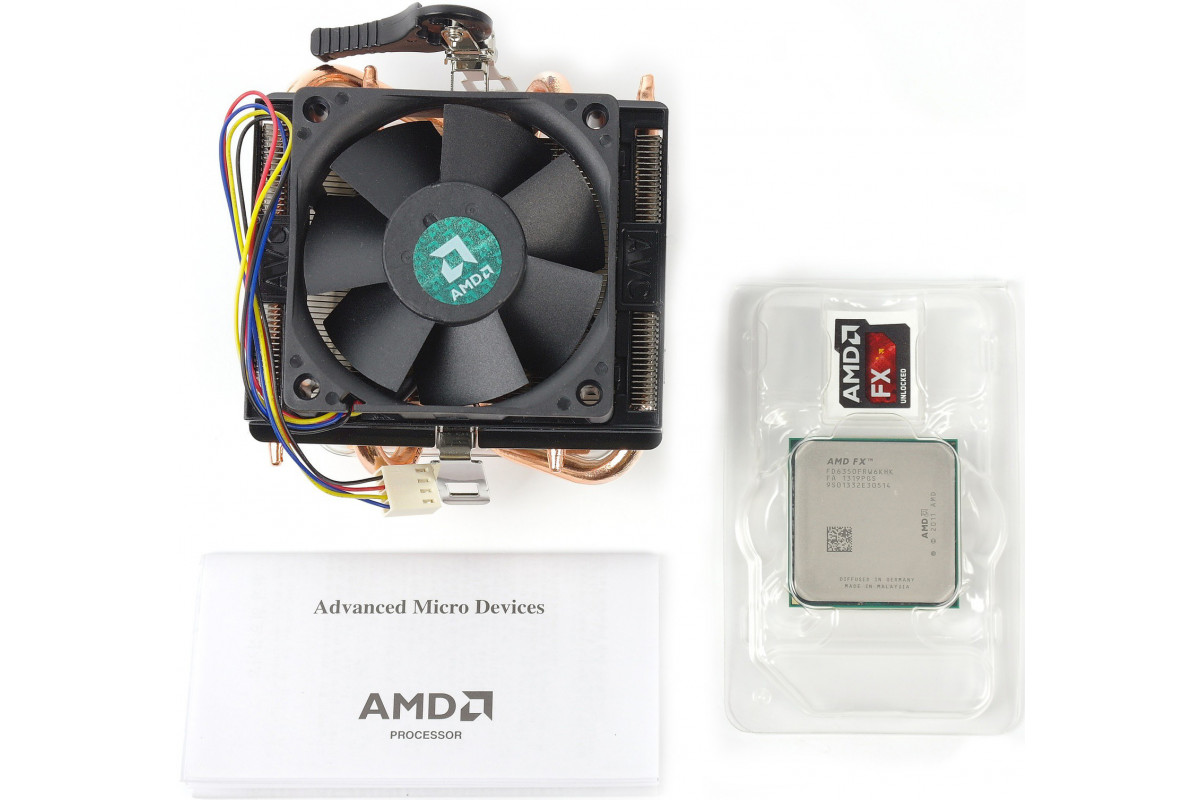 Процессор AMD FX-6350 BOX, FD6350FRHKBOX