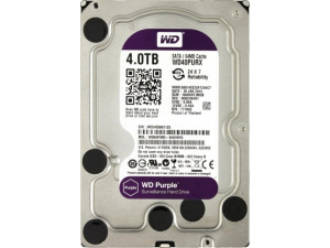 "Жёсткий диск WD Purple™ WD40PURZ 4ТБ 3,5"" IntelliPower 64MB (SATA-III) DV&NVR"