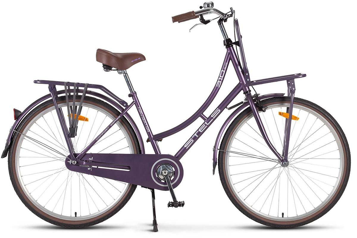 "Велосипед Stels Navigator 28"" 310 Lady V020 Фиолетовый (LU083548) 18"""