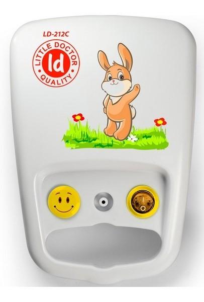 Компрессорный ингалятор (небулайзер) Little Doctor LD-212C желтый