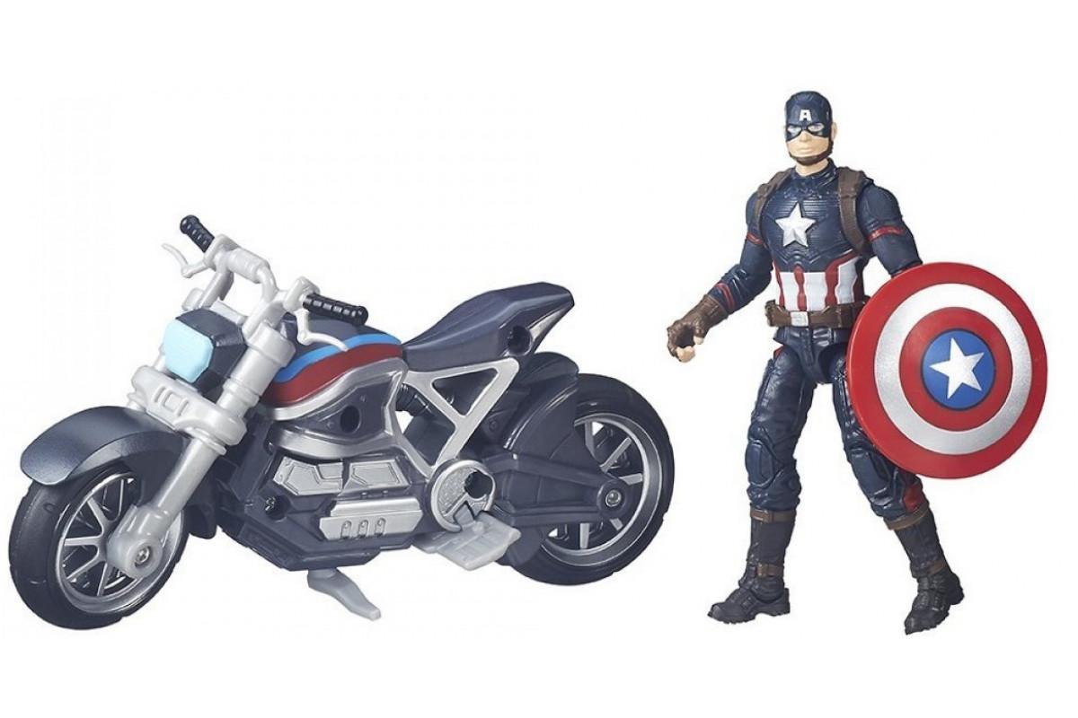 Avengers Игровой набор Капитан Америка Hasbro B6354