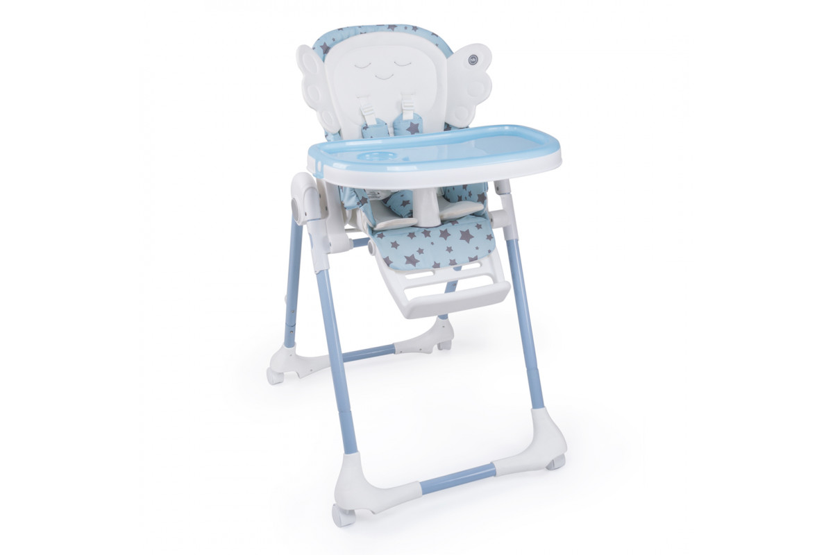 Happy Baby Wingy - Стульчик для кормления Blue