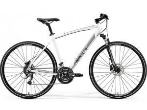 Велосипед Merida Crossway 40-D SilkPearl White (Silver) 2019 SM(48см)(93908)