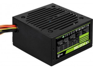Блок питания Aerocool ATX 500W VX-500 PLUS (24+4+4pin) 120mm fan 3xSATA RTL