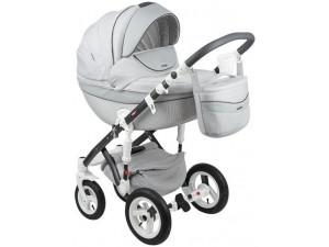 Adamex Monte Carbon - коляска 3 в 1 серый D8/а.к.F-1