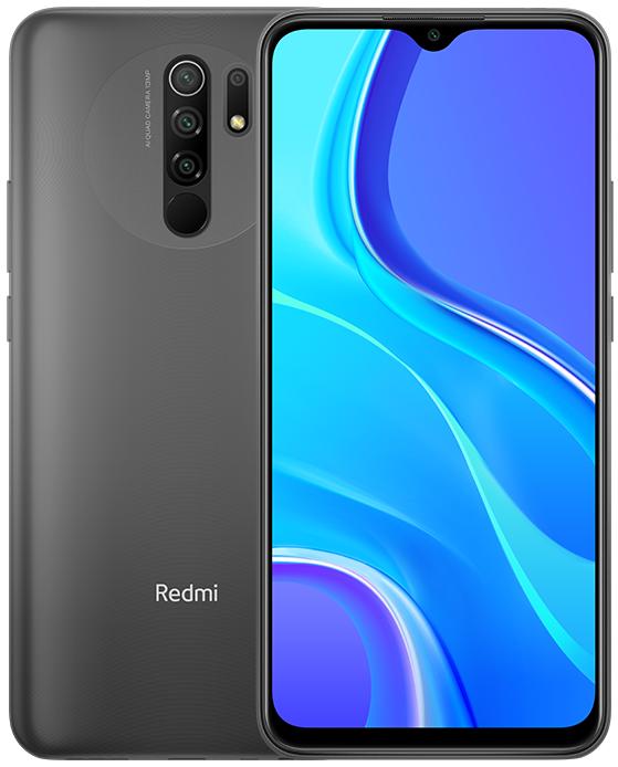 Смартфон Xiaomi RedMi 9 4/64Gb (NFC) Серый Global Version