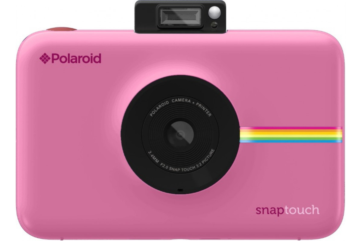 Моментальная фотокамера Polaroid Snap Touch, розовая