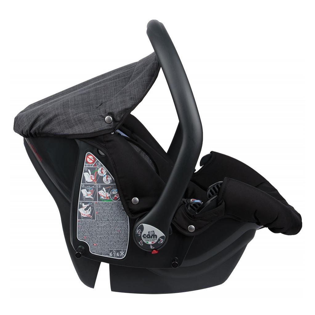 CAM Area Zero + детское автокресло-переноска 0-13 кг (черный)