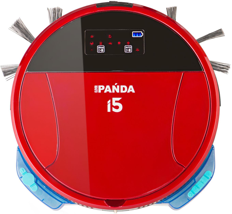Робот-пылесос Panda i5 красный