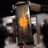Китайская компания продемонстрировала инновационный скручивающийся дисплей и технологию, которая составит конкуренцию OLED-экранам