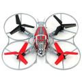 Квадрокоптер Syma X4, черный с красным