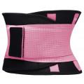 Фитнес пояс для похудения CleverCare, розовый, размер L