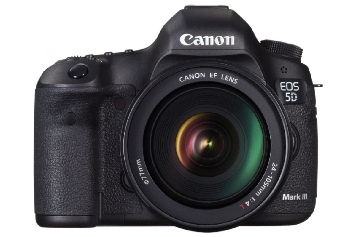 Зеркальный фотоаппарат Canon EOS 5D Mark III Kit 24-105 f/4L IS USM