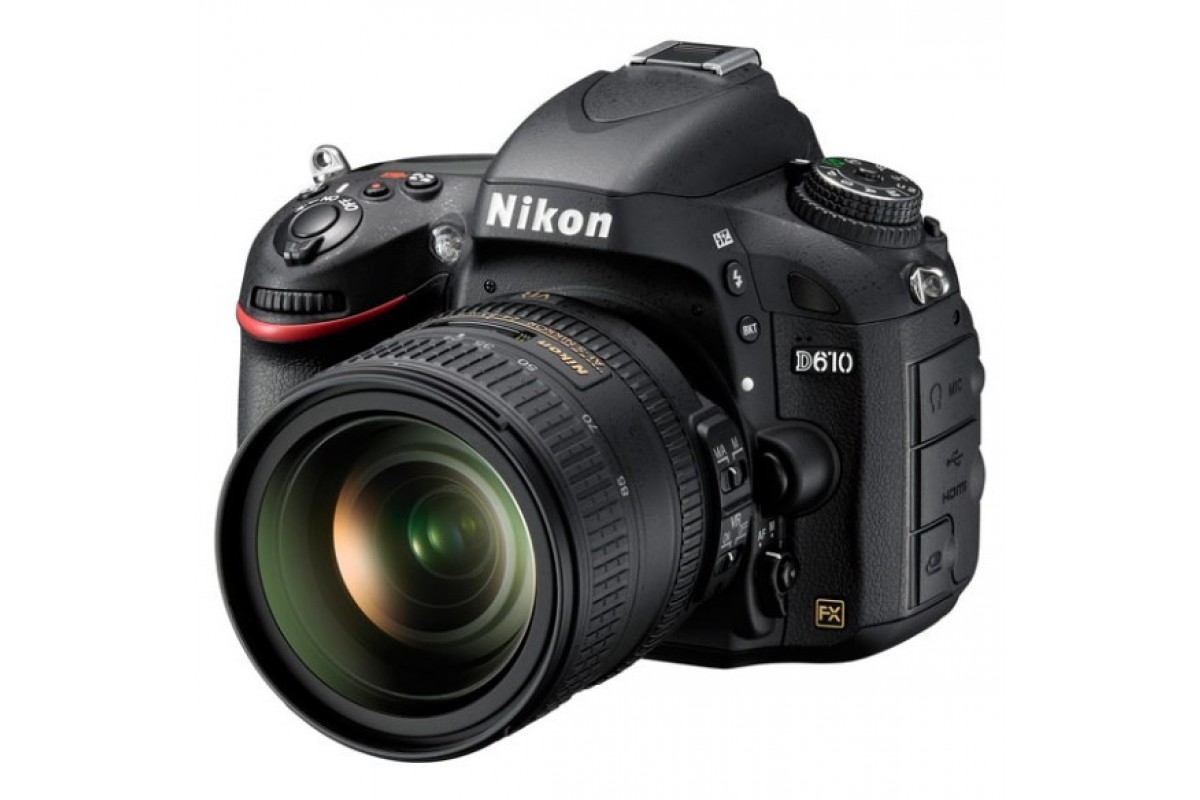 Зеркальный фотоаппарат Nikon D610 Kit 24-85mm f/3.5-5.6G VR X0865