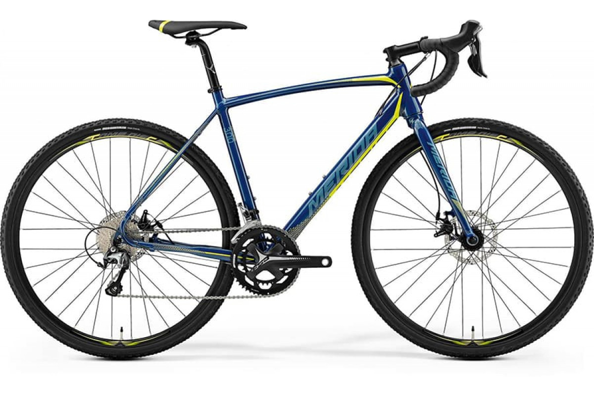 Велосипед Merida CycloCross 300 Petrol (Yellow/Lite Teal) 2019 ML(54см)(77193)