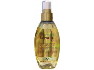 """OGX Масло-спрей легкое кератиновое против ломкости волос """"Мгновенное восстановление"""" 118 мл"""