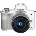 Canon EOS M50 kit EF-M 15-45mm f/3.5-6.3 IS STM белый