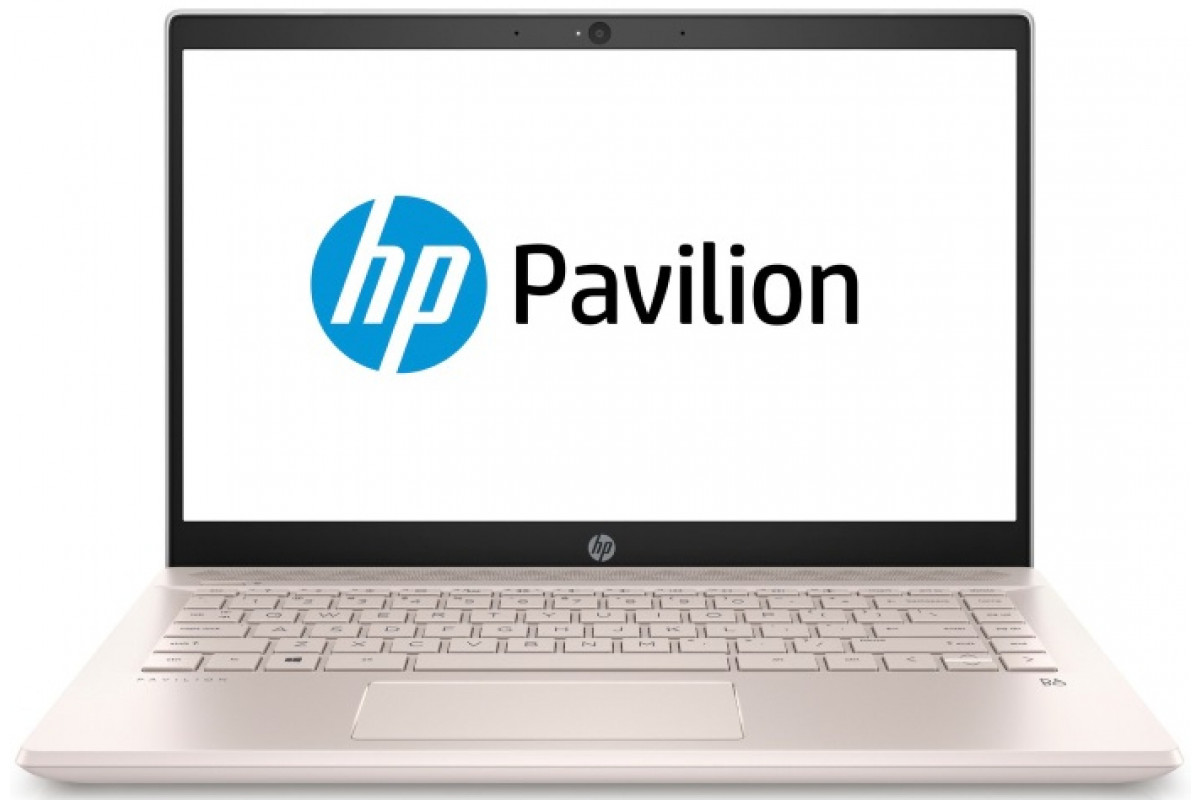 "Ноутбук HP Pavilion 14-ce0023ur<4HF40EA> i5-8250U (1.6)/8Gb/256Gb SSD/14.0""FHD IPS AG/Int Intel UHD 620/Cam HD/Win10 (Pale Rose Gold)"