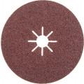 Круг шлифовальный фибровый Hammer Flex  243-014, 150мм, P40, 10000 об/мин, 80м/с (5шт)