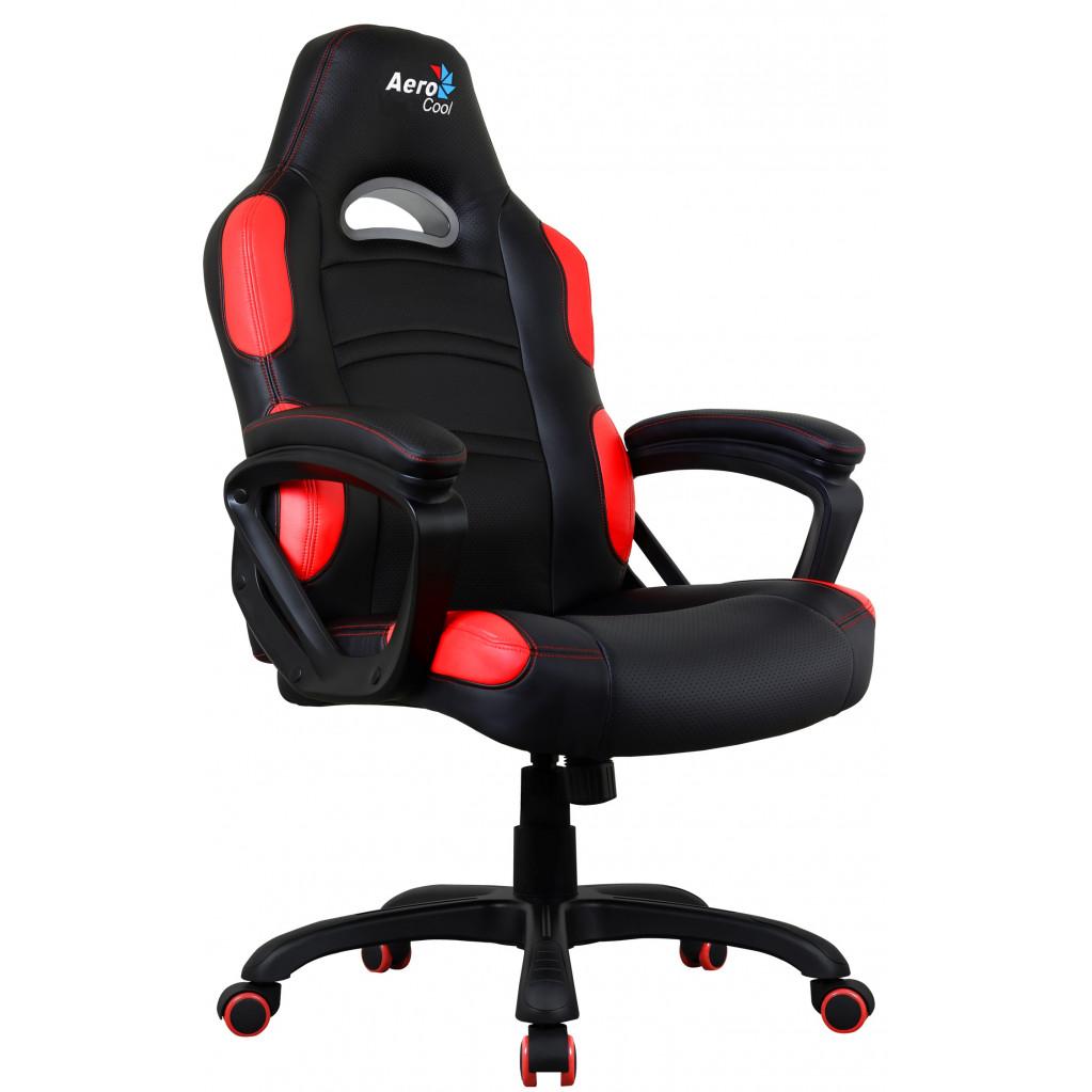 Кресло для геймера Aerocool AC80C AIR-BR черно-красное
