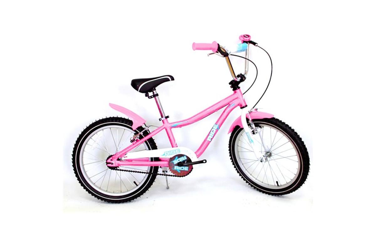 """Ride 20 - детский велосипед 20"""" светло-розовый"""