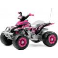 Peg-Perego Corral T-Rex (розовый) детский электромобиль