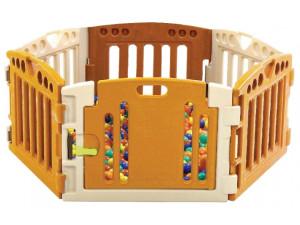 Edu-Play PR-3618M - детский манеж-ограждение бежевые тона