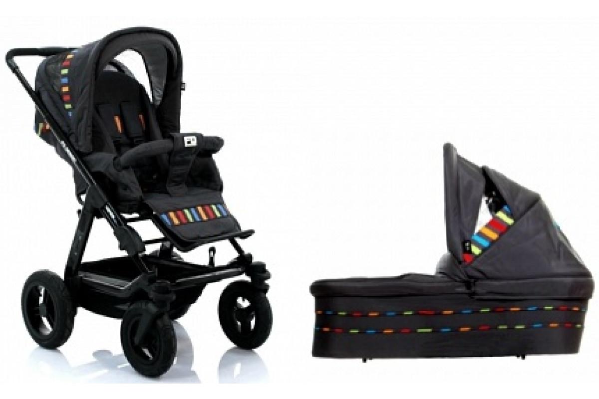 FD-Design Viper 4S - универсальная коляска 2 в 1 Multicolor