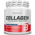 Biotech USA Collagen 300 г, Чёрная малина