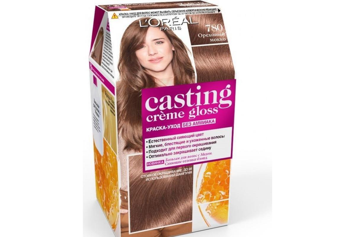 L'Oreal Casting Creme Gloss Крем-Краска для волос тон 780 Ореховый мокко