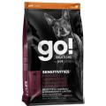 Корм для щенков и собак с чувствительным пищеварением беззерновой GO! SENSITIVITIES Limited Ingredient Grain FreeLamb Recipe DF, ягненок, 9,98 кг