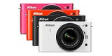 """Новые камеры Nikon1 J2 (черного, белого, оранжевого и розового цветов корпуса) поступили в магазин """"Фотосклад.ру"""""""