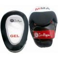 Лапа боксерская изогнутая (пара) Indigo 250045 Бело-черный