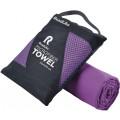 Полотенце спортивное охлаждающее RoadLike Travel 50*100 см черника
