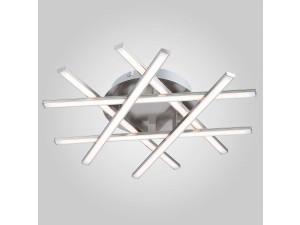 Потолочный светодиодный светильник Eurosvet 90021/6 сатин-никель
