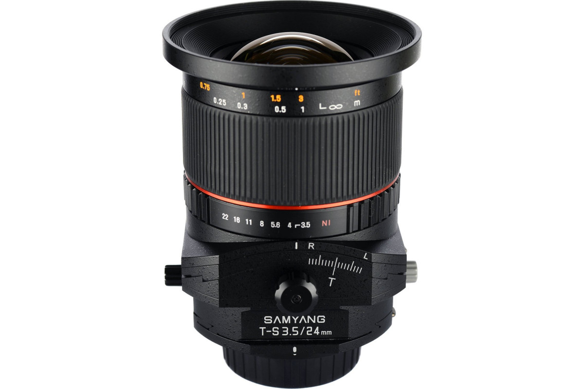 Samyang T-S 24mm f/3.5 AS ED UMC Pentax