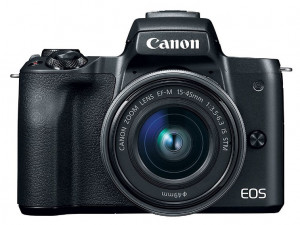 Беззеркальный фотоаппарат Canon EOS M50 kit EF-M 15-45mm f/3.5-6.3 IS STM черный