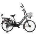 Велогибрид Eltreco E-Alfa темно-серый-0245