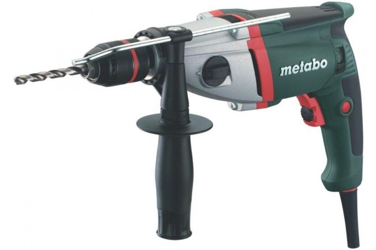 Дрель ударная METABO SBE 751 (600863500)  750Вт 13мм БЗП 0-1000/0-3100об/мин кейс