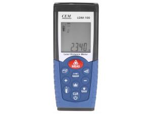 Дальномер лазерный CEM LDM-100  дальность 0.05-50м, точность ±1.5мм