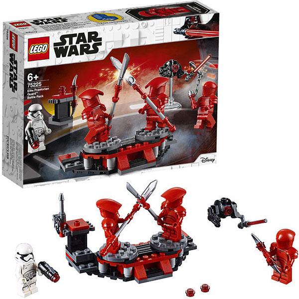 Lego Star Wars Боевой набор Элитной преторианской гвардии конструктор 75225