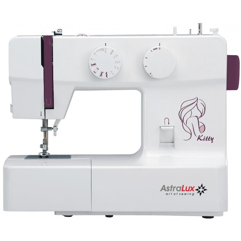 Швейная машина Astralux Kitty белый/рисунок