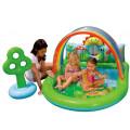 Intex Игровой центр-бассейн Люблю Лето, с игрушками, со съемным навесом 57421